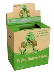 Grüne Umweltbox